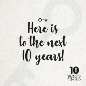 Here is to the next 10 years!